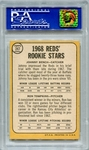 1968 Topps Johnny Bench / Ron Tompkins #247 PSA 7