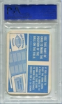 1971 Topps Game Cards - Field Position Marker PSA 9