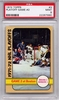 1972 Topps NHL Playoff Game 2 At Boston #3 PSA 9