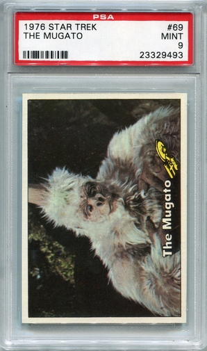 1976 Star Trek - The Mugato #69 PSA 9