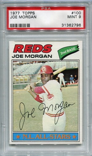1977 Topps Joe Morgan #100 PSA 9