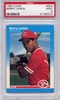 1987 Fleer Barry Larkin #204 PSA 9