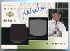 2003 Upper Deck Mike Weir Golf Gear Birdie Autograph #GB-MW