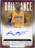2012 Panini Brilliance Basketball Kobe Bryant Autograph #12 #100/199