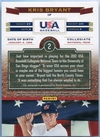2012 Panini USA Baseball Collegiate National Team Kris Bryant Autograph #2 #249/399