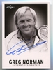 2013 Leaf 1960 Signatures - Greg Norman Autograph #GN