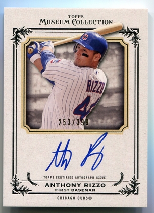 2013 Topps Museum Collection Anthony Rizzo Autograph #AA-AR #253/399