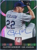 2014 Panini Elite Turn of the Century Clayton Kershaw Autograph #13