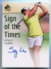 2014 Upper Deck SP Authentic Stacy Lewis Autograph #SOTT-SL