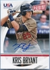 2015 Panini USA Baseball The National Convention Kris Bryant Autograph #69