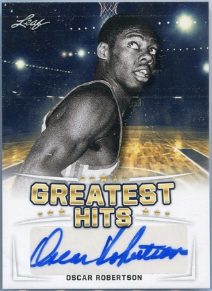 2016 Leaf Greatest Hits Oscar Robertson Autograph #GH-OR1