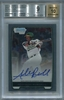 Addison Russell Rookie BGS Certified Authentic Autograph - 2012 Bowman Chrome Draft Refractor