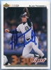 Alan Trammell JSA Certified Authentic Autograph - 1991 Upper Deck
