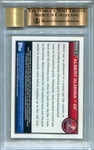 Albert Almora Rookie BGS Certified Authentic Autograph - 2010 Bowman Chrome Draft