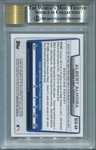 Albert Almora Rookie BGS Certified Authentic Autograph - 2012 Bowman Chrome Draft