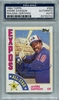 Andre Dawson PSA/DNA Certified Authentic Autograph - 1984 Topps