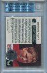 Brett Favre Rookie BGS/JSA Certified Authentic Autograph - 1991 Pro Set