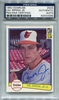 Cal Ripken Jr. Rookie PSA/DNA Certified Authentic Autograph - 1982 Donruss