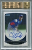 Carl C.J. Edwards Jr. Rookie Certified Authentic Autograph - 2013 Bowman Chrome Prospect - BGS 10