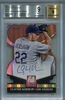Clayton Kershaw BGS Certified Authentic Autograph - 2014 Panini Elite Gold