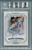 Clayton Kershaw BGS Certified Authentic Autograph - 2012 Topps Museum Collection #21/100