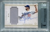 Clayton Kershaw BGS Certified Authentic Autograph - 2017 Topps Definitive #30/40