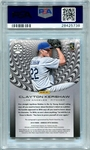 Clayton Kershaw PSA/DNA Certified Authentic Autograph - 2016 Panini Donruss Optic