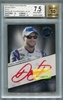 Dale Earnhardt Jr BGS Certified Authentic Autograph - 2013 Press Pass Redline Signatures - Blue #17/25