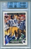 Dan Fouts BGS/JSA Certified Authentic Autograph - 1991 Upper Deck Domino's