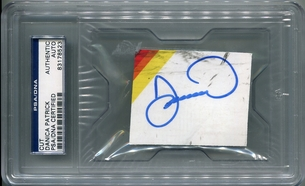 Danica Patrick PSA/DNA Certified Authentic Autograph - Sheet Metal Cut