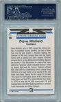 Dave Winfield PSA/DNA Certified Authentic Autograph - 1982 Donruss D.K.