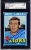 Dick LeBeau SGC Certified Authentic Autograph - 1971 Topps