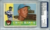 Ernie Banks PSA/DNA Certified Authentic Autograph - 1960 Topps