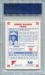 Ernie Banks PSA/DNA Certified Authentic Autograph - 1993 Nabisco