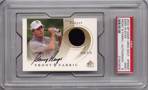 Gary Player PSA/DNA Certified Authentic Autograph - 2002 Upper Deck SP