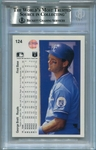 George Brett BAS Certified Authentic Autograph - 1990 Upper Deck