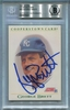 George Brett BAS Certified Authentic Autograph - 1991 Score Cooperstown Card