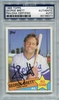 George Brett PSA/DNA Certified Authentic Autograph - 1985 Topps