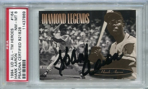 Hank Aaron PSA/DNA Certified Authentic Autograph - 1994 Upper Deck
