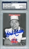 Hank Aaron PSA/DNA Certified Authentic Autograph - 2007 Kellogg's All Stars
