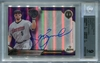 Jeff Bagwell BGS Certified Authentic Autograph - 2016 Topps Tribute Purple