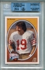 Joe Montana BGS/JSA Certified Authentic Autograph - 1991 UD Heroes #2