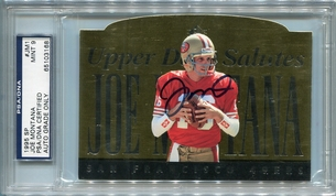 Joe Montana PSA/DNA Certified Authentic Autograph - 1995 SP