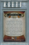 Johnny Bench BGS Certified Authentic Autograph - 2015 Topps Tier One Silver #08/10