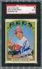 Johnny Bench SGC Certified Authentic Autograph - 1972 O-Pee-Chee