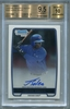 Jorge Soler Rookie Certified Authentic Autograph - 2012 Bowman Chrome Prospect BGS 9.5 GEM MT