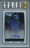 Jorge Soler Rookie Certified Authentic Autograph - 2012 Bowman Chrome Prospect BGS 9 MINT