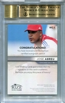 Jose Abreu Rookie BGS Certified Authentic Autograph - 2013 Leaf Rize Draft Gold