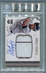 Jose Abreu Rookie BGS Certified Authentic Autograph - 2014 National Treasures RCM