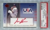 Justin Verlander Rookie PSA/DNA Certified Authentic Autograph - 2003 UD USA Baseball
